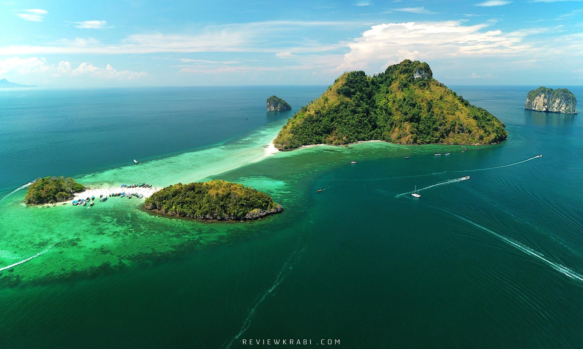พลาดไม่ได้แล้ววกับทะเลแหวกที่กระบี่มาเช็นอินกันได้รัวๆ กับน้ำทะเลอันดามันสีมรกต